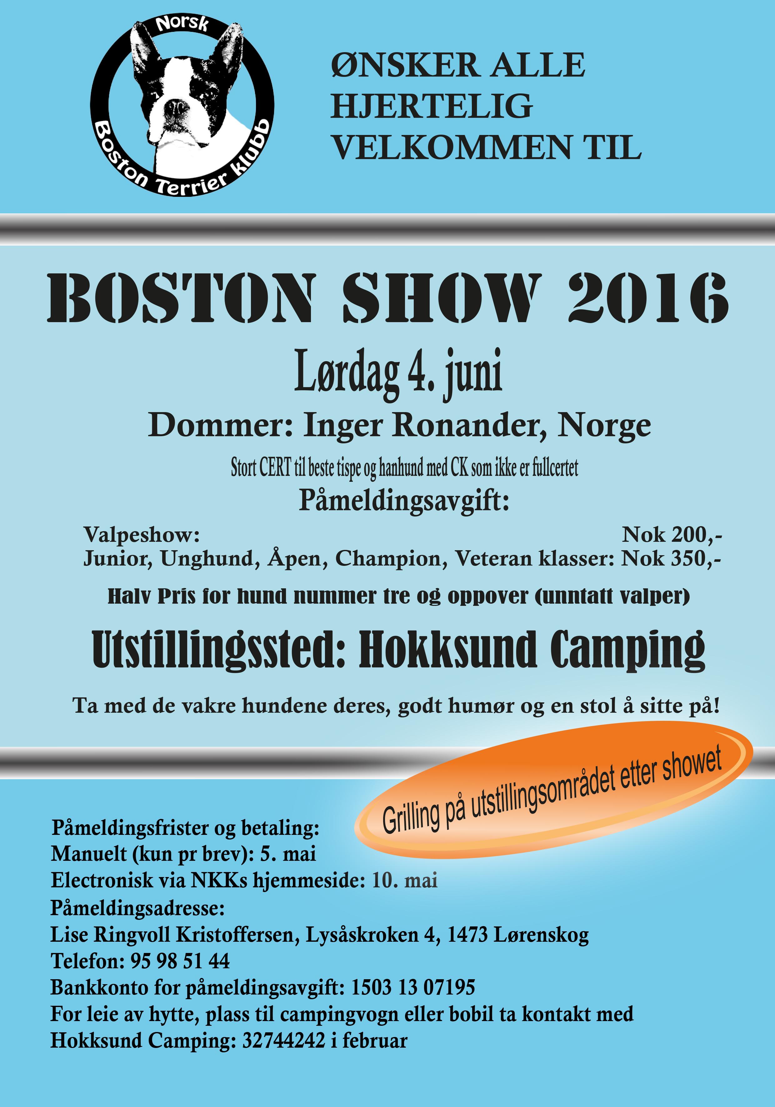 Annonse NBTK NORSK 2016