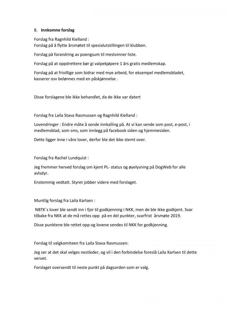 Referat Årsmøte 2019-2