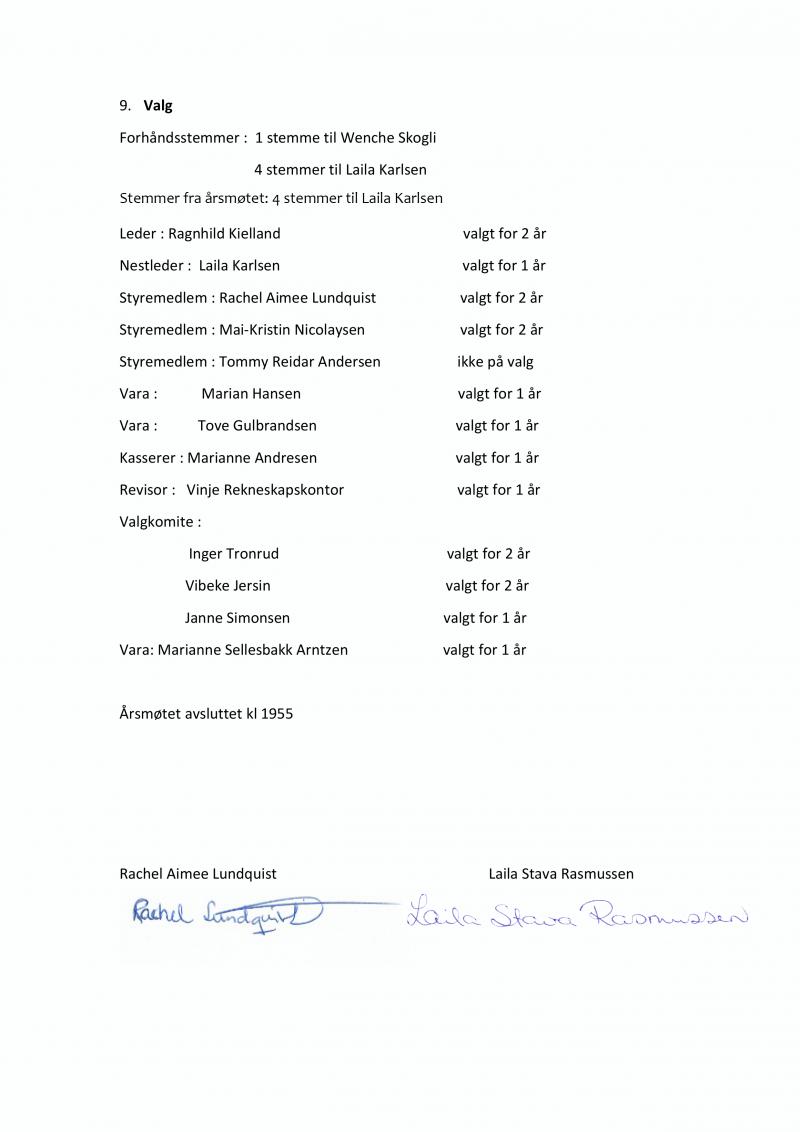 Referat Årsmøte 2019-3