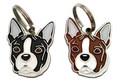 Boston Terrier Tags